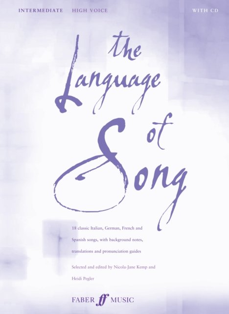 Language Of Song: Intermediate (High Voice)