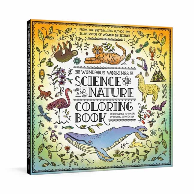 Wondrous Workings of Science and Nature Coloring Book
