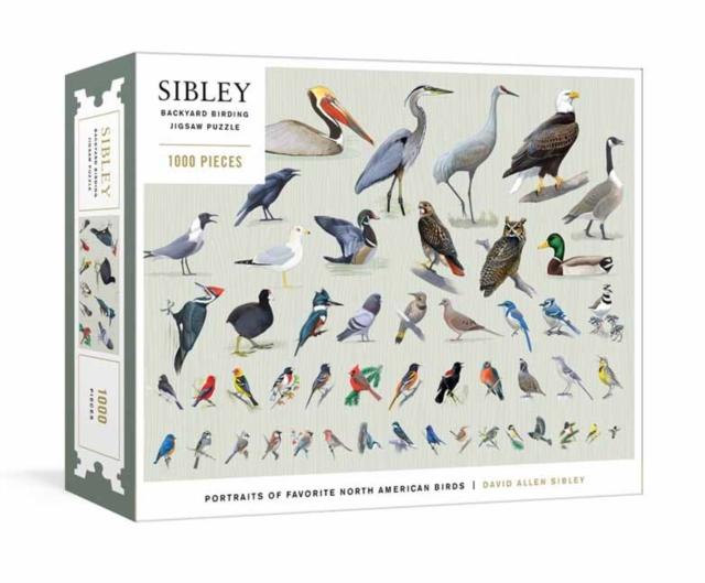 Sibley Backyard Birding Puzzle
