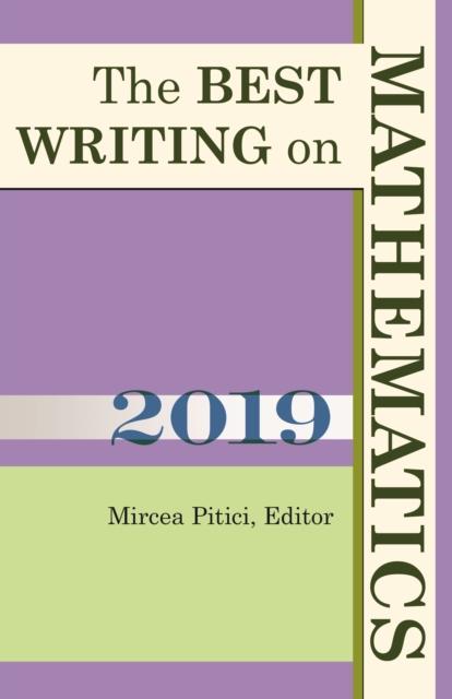 Best Writing on Mathematics 2019