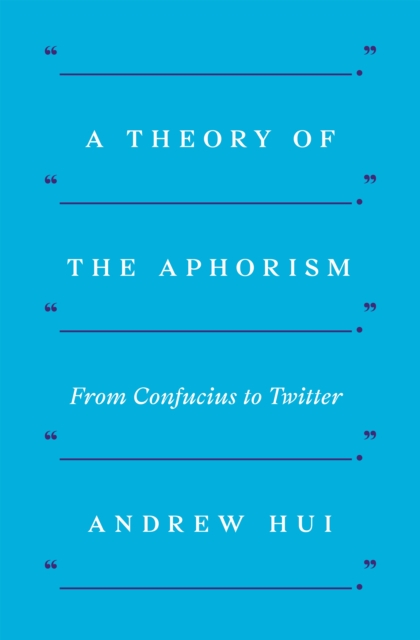 Theory of the Aphorism
