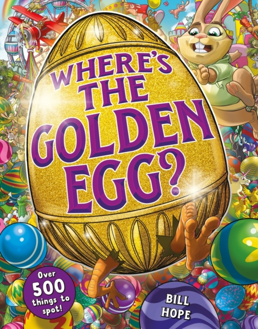 Where's the Golden Egg? A search and find book