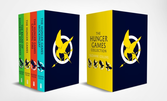 Hunger Games 4 Book Paperback Box Set