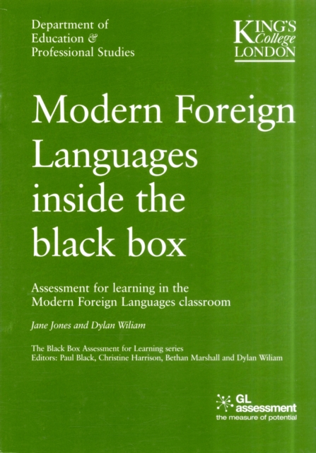 Modern Foreign Languages Inside the Black Box