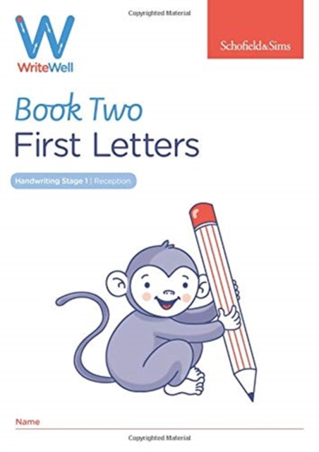 WriteWell 2: First Letters, Early Years Foundation Stage, Ages 4-5