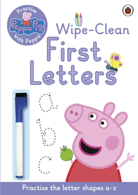 Peppa Pig: Practise with Peppa: Wipe-Clean First Letters