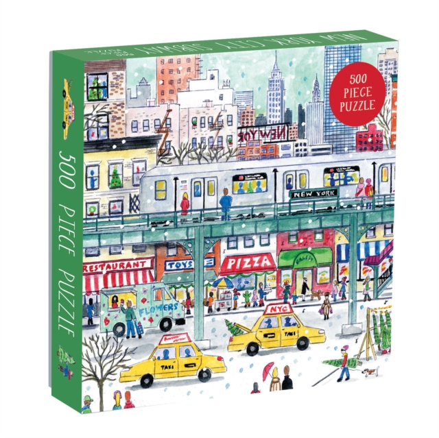 Michael Storrings New York City Subway 500 Piece Puzzle