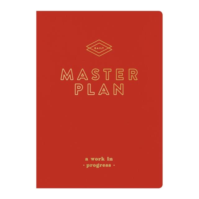 Master Plan Writer's Undated Planner