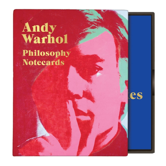 Andy Warhol Philosophy Greeting Assortment Notecards