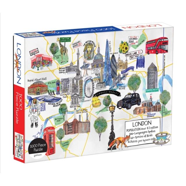 London Map 1000 Piece Puzzle
