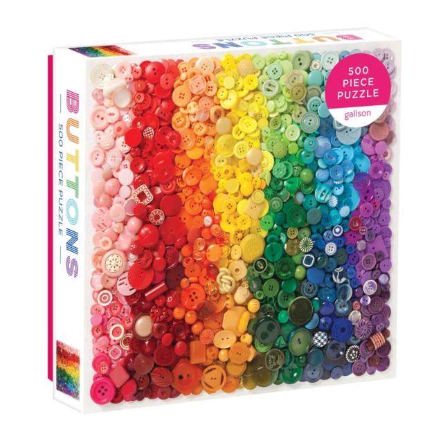 Rainbow Buttons 500 Piece Puzzle