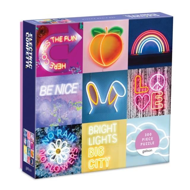 Electric Confetti Neon 300pc Puzzle