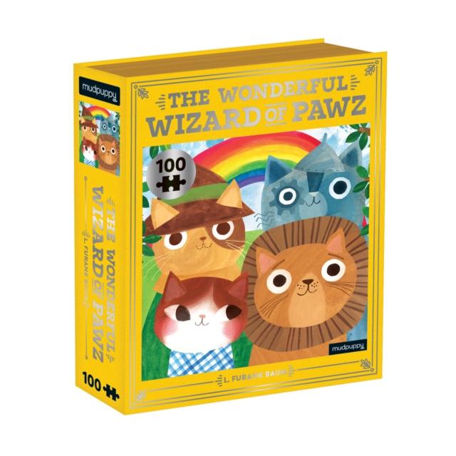 Wonderful Wizard of Pawz Bookish Cats 100 Piece Puzzle