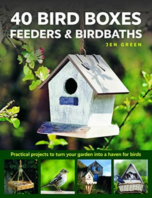 40 Bird Boxes, Feeders & Birdbaths