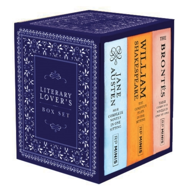 Literary Lover's Box Set (Running Press Miniature Editions)