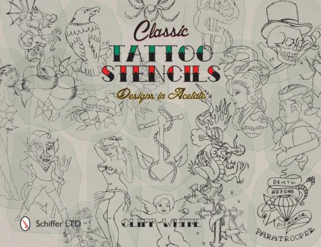 Classic Tattoo Stencils: Designs in Acetate