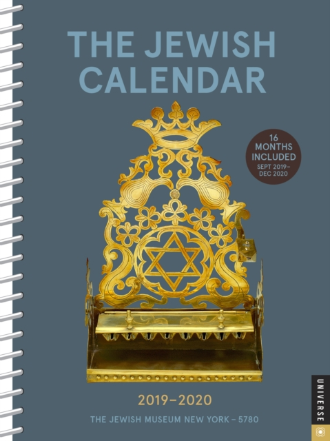 Jewish 2019-2020 Diary Planner, the