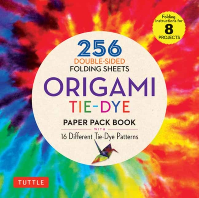 Origami Tie Dye Patterns Paper Pack Book