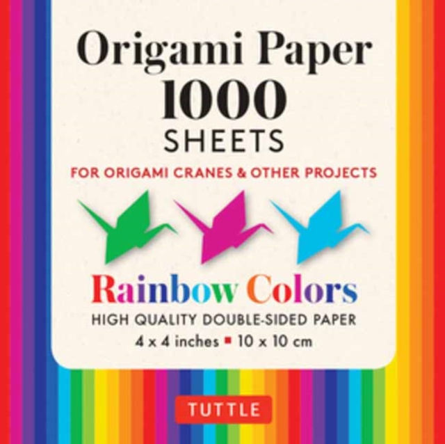 Origami Paper Rainbow Colors 1,000 sheets 4