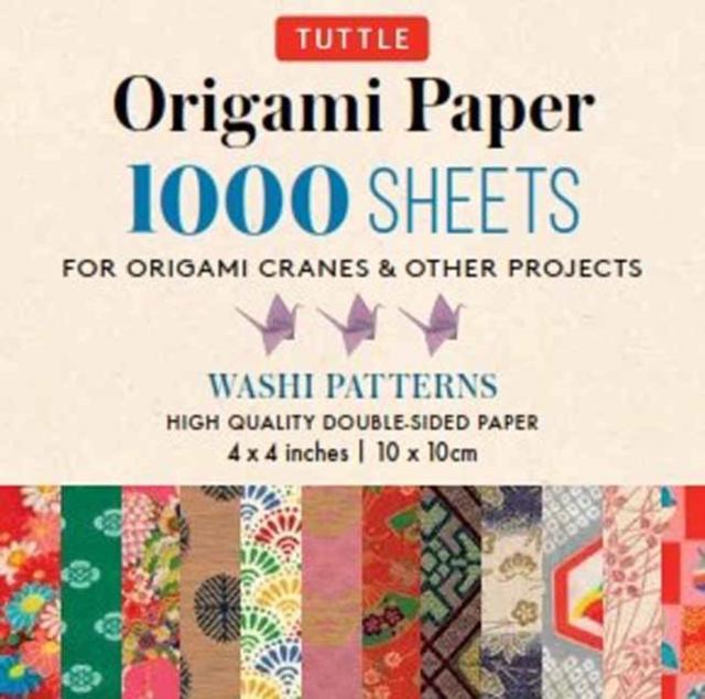 Origami Paper Japanese Washi  1,000 sheets 4