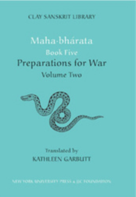 Mahabharata Book Five (Volume 2)