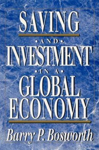 Saving and Investment in a Global Economy