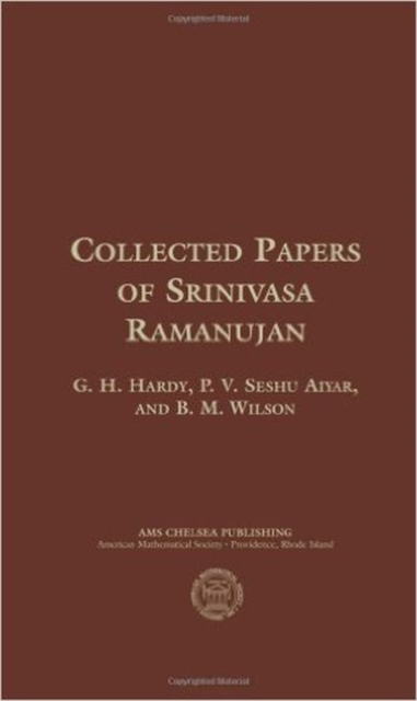 Collected Papers of Srinivasa Ramanujan