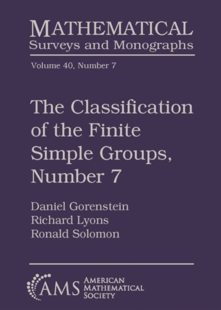 Classification of the Finite Simple Groups, Number 7
