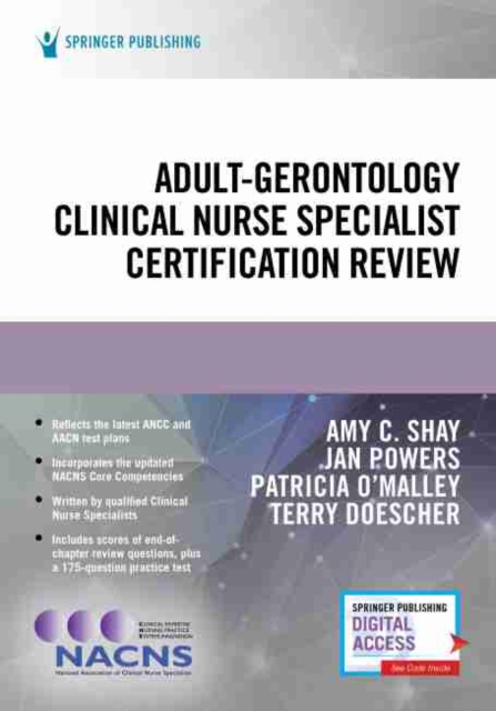Adult-Gerontology Clinical Nurse Specialist Certification Review