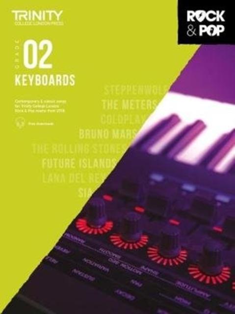 Trinity College London Rock & Pop 2018 Keyboards Grade 2