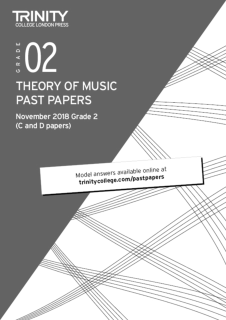 Theory of Music Past Papers (Nov 2018) Grade 2