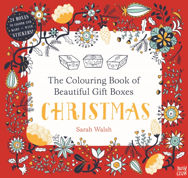 Colouring Book of Beautiful Gift Boxes: Christmas