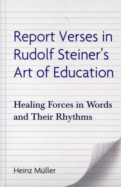 Report Verses in Rudolf Steiner's Art of Education