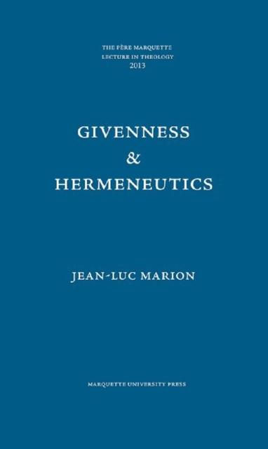 Givenness & Hermeneutics