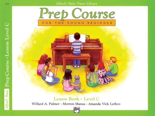 Alfred'S Basic Piano Library Prep Course Lesson C