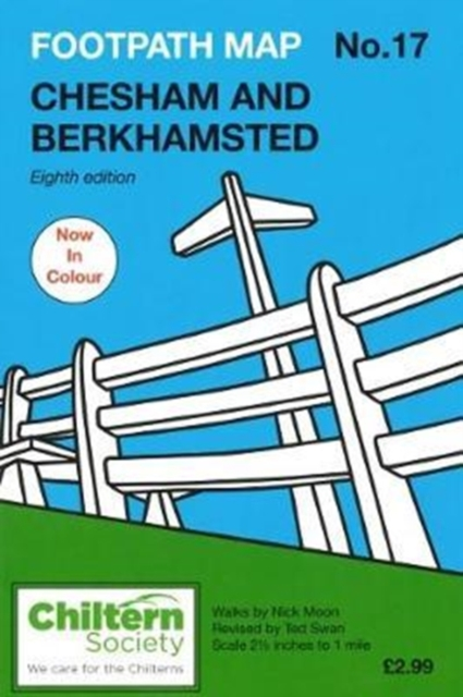 Footpath Map No. 17 Chesham and Berkhamsted