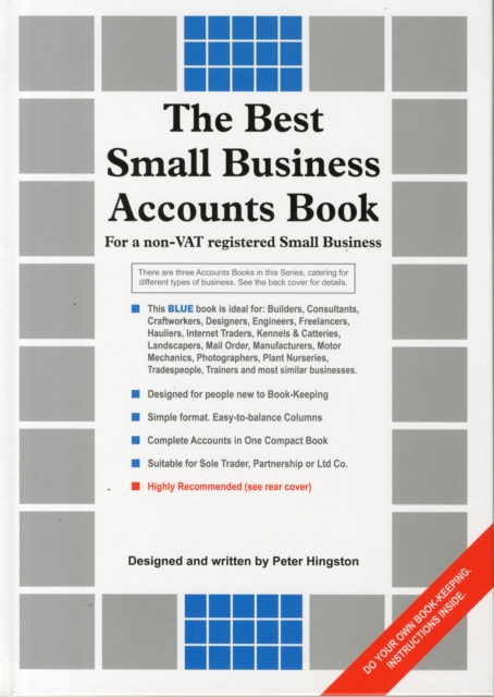 Best Small Business Accounts Book (Blue Version)