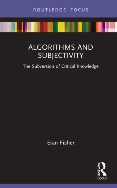 Algorithms and Subjectivity