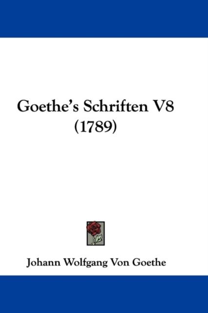 Goethe's Schriften V8 (1789)