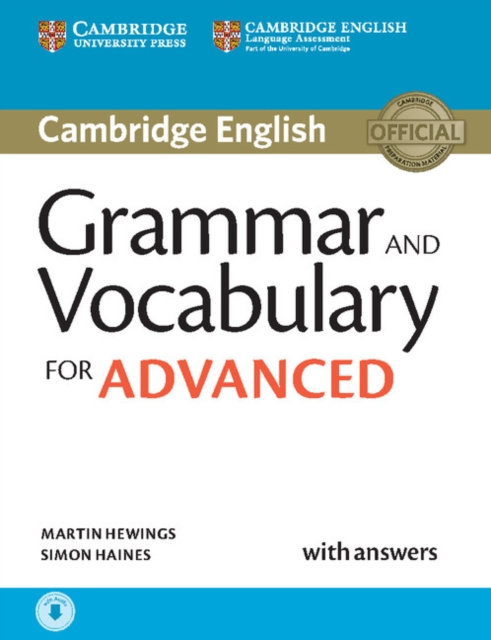 Grammar and Vocabulary for Advanced Book with Answers and Audio