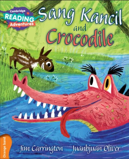 Sang Kancil and Crocodile Orange Band