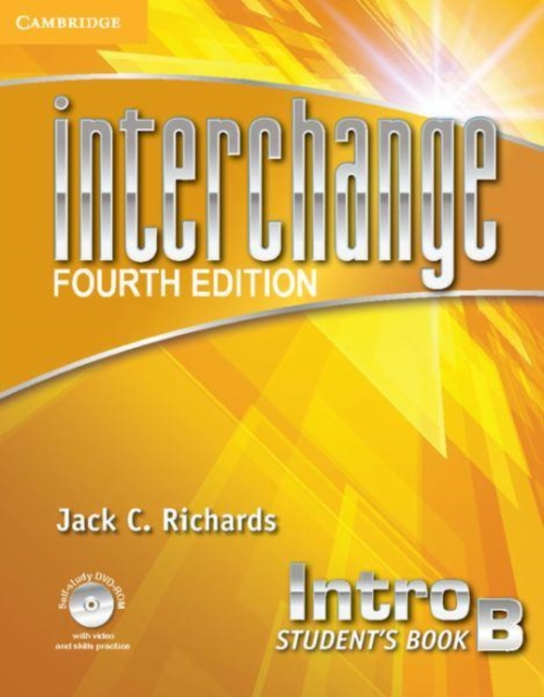 Interchange Intro Student's Book B with Self-study DVD-ROM