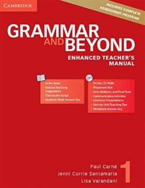 Grammar and Beyond Level 1 Enhanced Teacher's Manual with CD-ROM