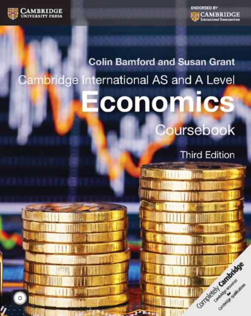 Cambridge International AS and A Level Economics Coursebook with CD-ROM