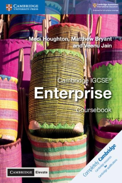 Cambridge IGCSE (R) Enterprise Coursebook with Cambridge Elevate Edition (2 Years)