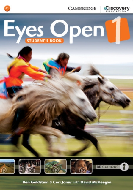 Eyes Open Level 1 Student's Book and Workbook
