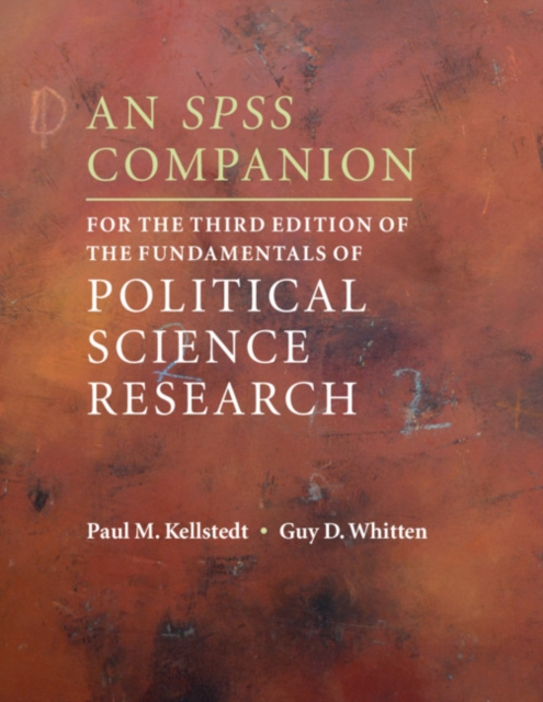 SPSS Companion for the Third Edition of The Fundamentals of Political Science Research