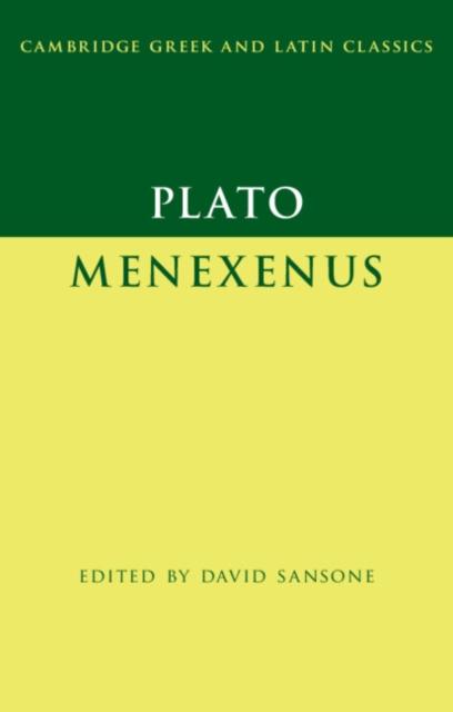 Plato: Menexenus