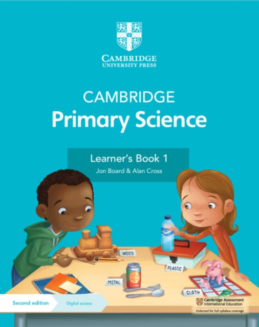 Cambridge Primary Science Learner's Book 1 with Digital Access (1 Year)