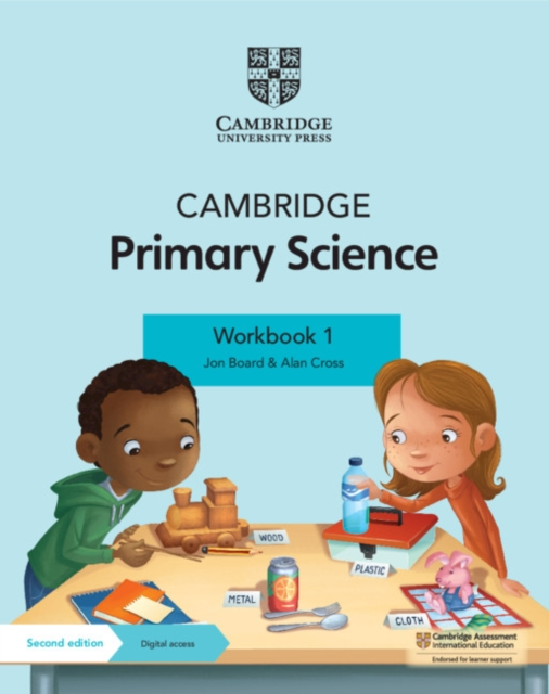 Cambridge Primary Science Workbook 1 with Digital Access (1 Year)